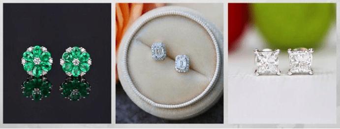 Все о том, какими бывают женские серьги: 40 вариантов на выбор. Серьги с камнями