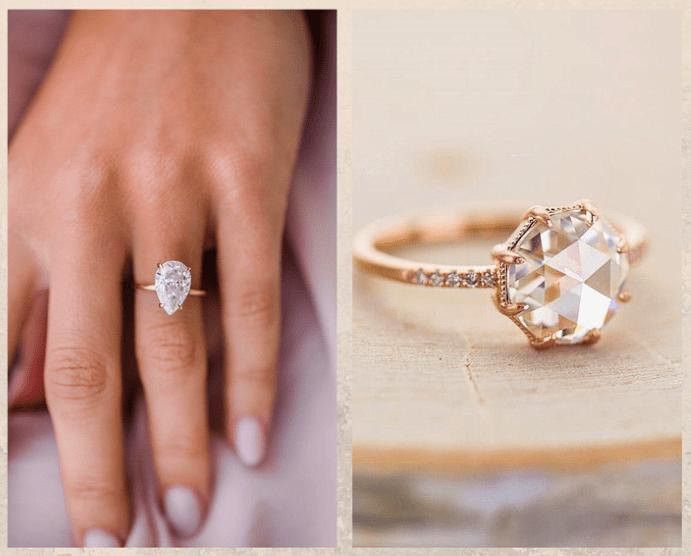 10 бесцветных драгоценных камней. Муассанит