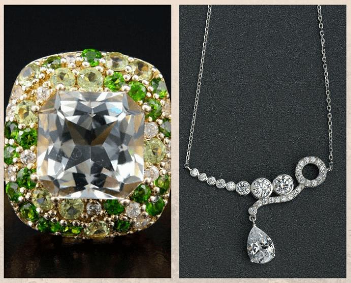 10 бесцветных драгоценных камней. Циркон