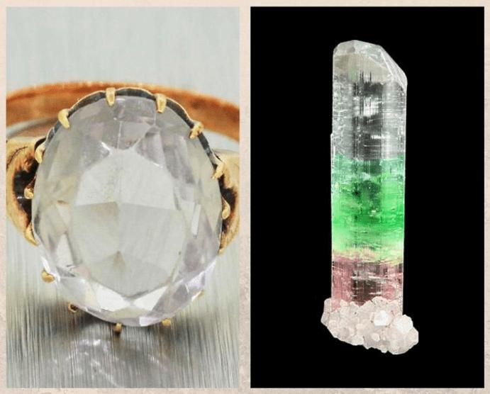10 бесцветных драгоценных камней. Ахроит