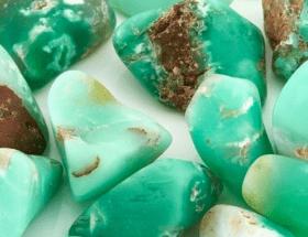 Хризопраз: камень, похожий на зеленый лед