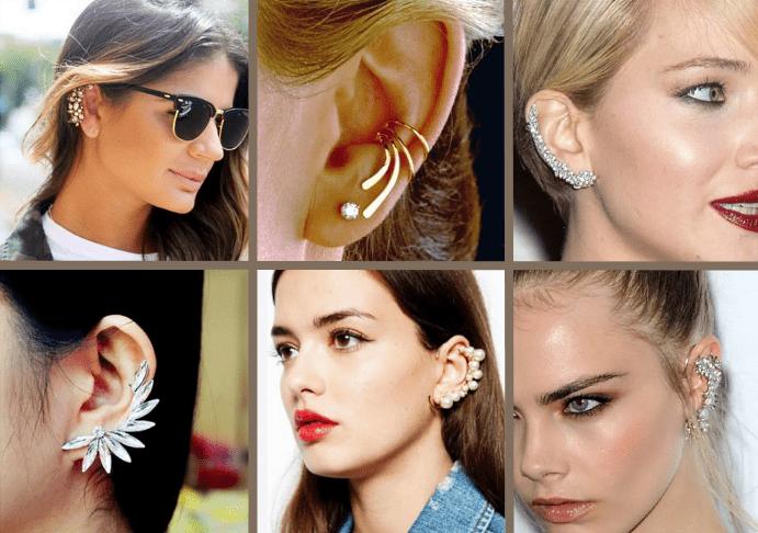 Серьги каффы 2020, модный тренд, виды и особенности