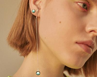 Что означает серьга в правом ухе женщины?