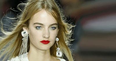 Модные серьги из золота: актуальные решения в нынешнем году. Непарная асимметрия