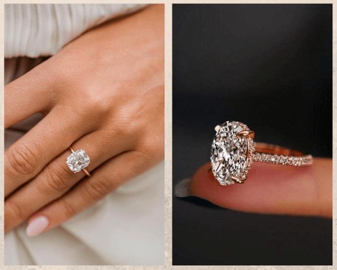 Не только бриллианты: камни, которые смотрятся в помолвочном кольце не хуже. Муассанит