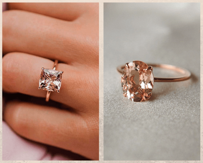 Не только бриллианты: камни, которые смотрятся в помолвочном кольце не хуже. Морганит