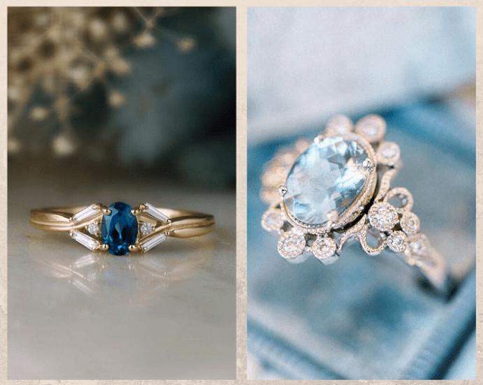 Не только бриллианты: камни, которые смотрятся в помолвочном кольце не хуже. Топаз