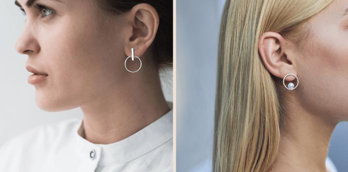 Размер сережек: как определить подходящий по мочку уха