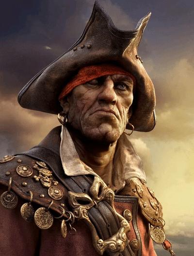 Морские пираты воспринимали серьги как символ мужества, силы и смелости