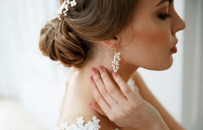 Свадебные серьги: виды и советы по подбору