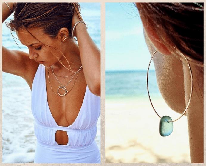 Ювелирные украшения на пляже: что надеть, а что оставить дома, что и как носить