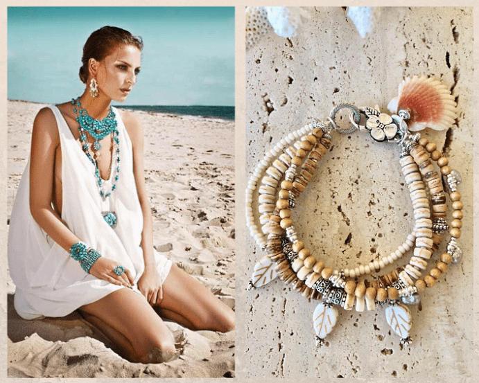 Выбор ювелирных украшений для отдыха на пляже