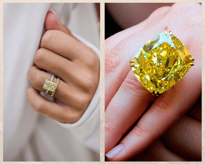 10 желтых драгоценных камней. Бриллиант