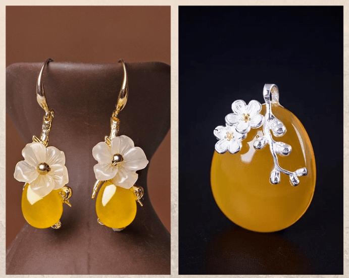 10 желтых драгоценных камней. Нефрит