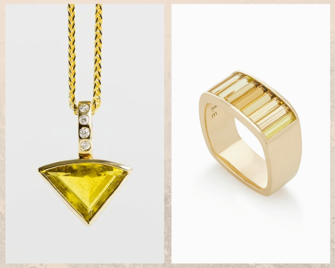 10 желтых драгоценных камней. Турмалин