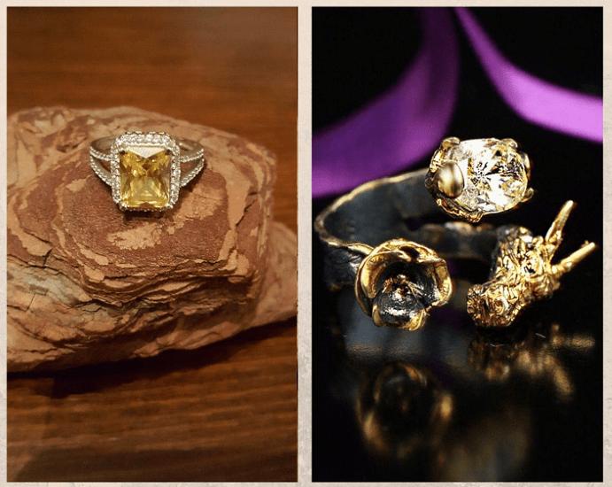 10 желтых драгоценных камней. Циркон