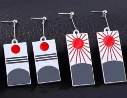 Серьги Ханафуда: для любителей аниме и не только