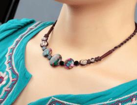 Тибетское ожерелье чакр: для раскрытия третьего глаза и не только