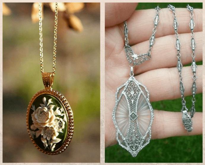 Винтажные украшения, ожерелья, кольца, браслеты, броши