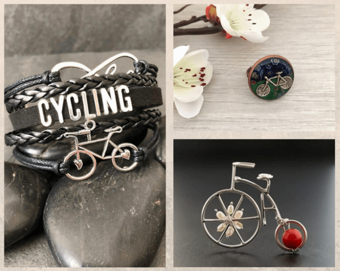 Велосипеды и ювелирные украшения