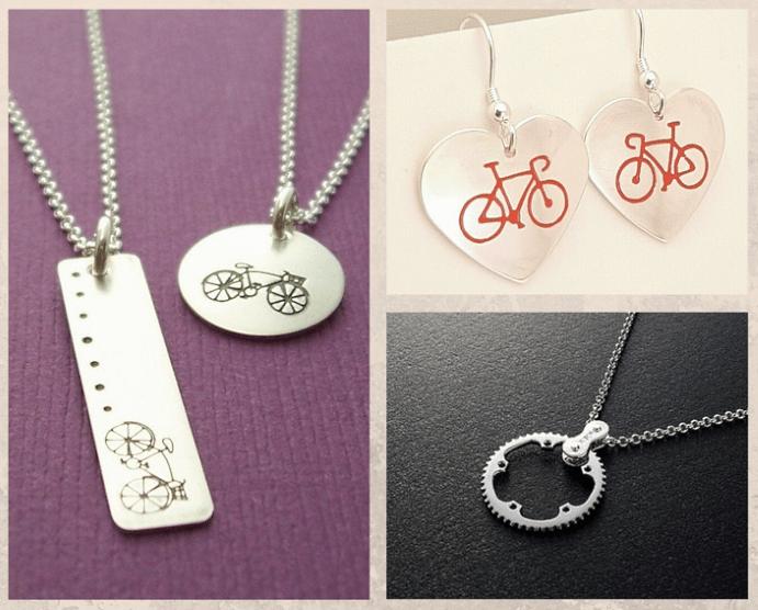 Виды украшений с велосипедным дизайном