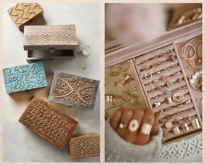 Рассортируйте изделия по металлам при хранении украшений