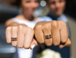 Модные обручальные кольца 2020 года