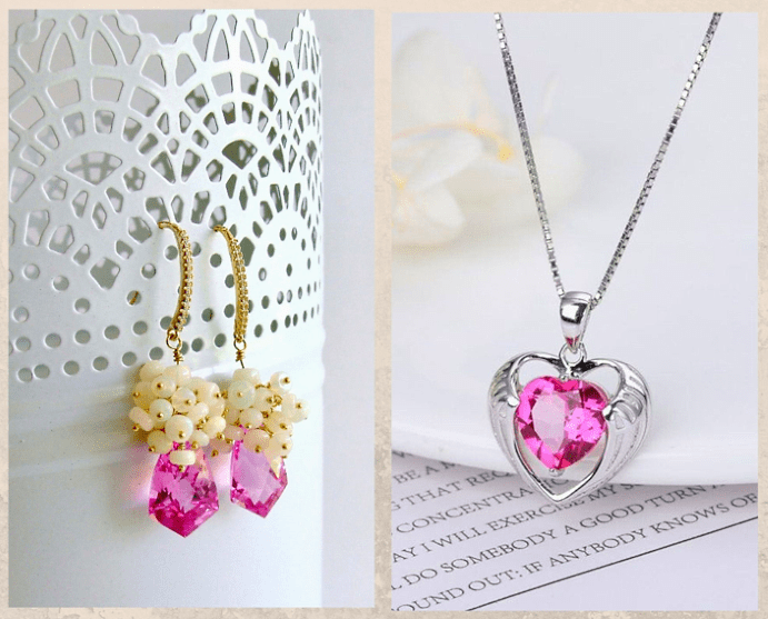 10 розовых драгоценных камней. Топаз