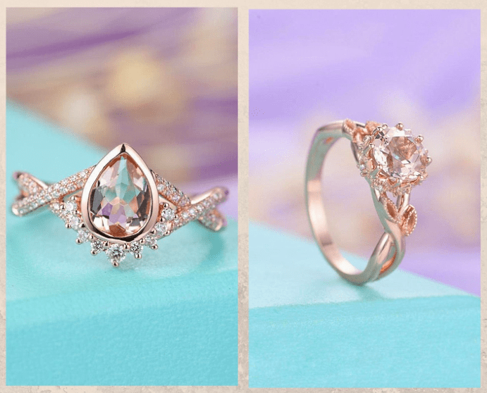 10 розовых драгоценных камней. Морганит