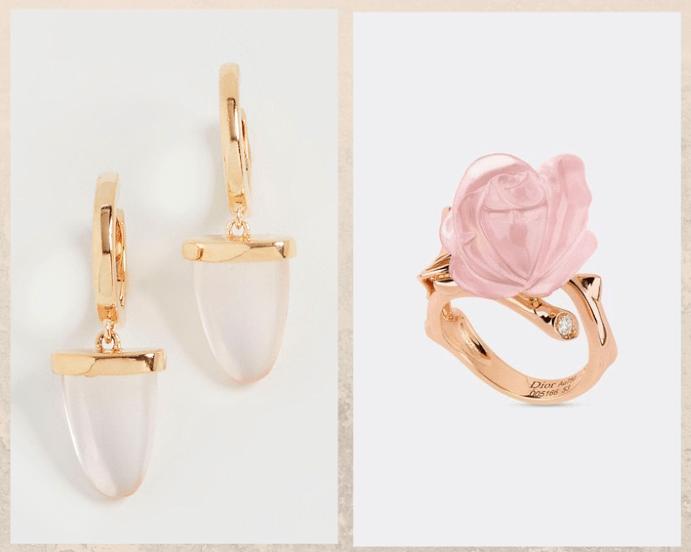 10 розовых драгоценных камней. Розовый кварц