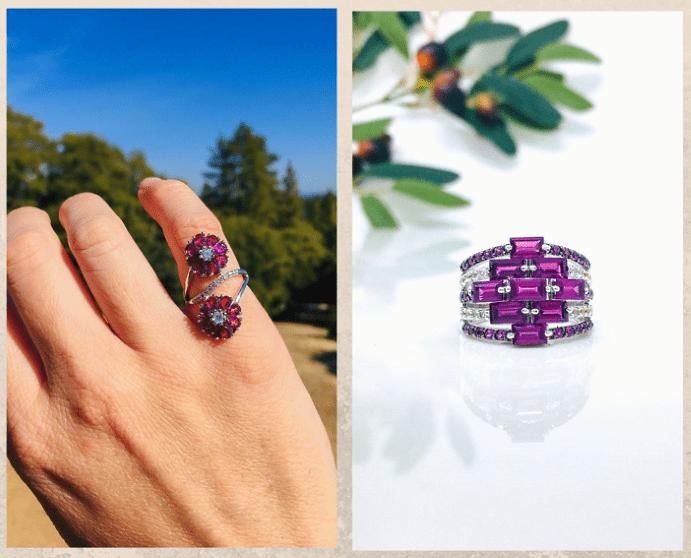 10 розовых драгоценных камней. Родолит
