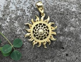 Кулон Солнце: источник света, силы и могущества