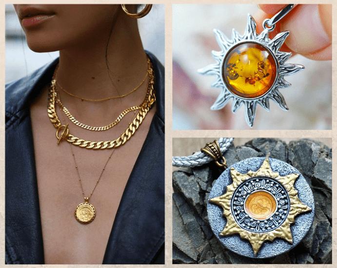 Кулон Солнце. История символа