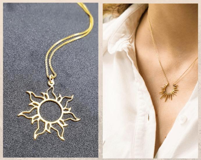 Кулон Солнце. Что означает украшение