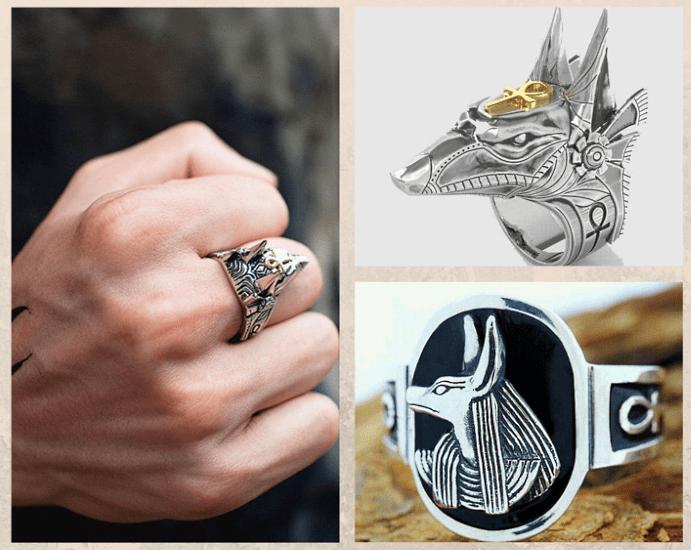 Кольцо Анубиса. История символа