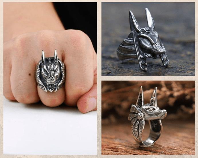 Кольцо Анубиса. Дизайн кольца, как носить
