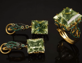 Обзор золотых украшений с бериллом