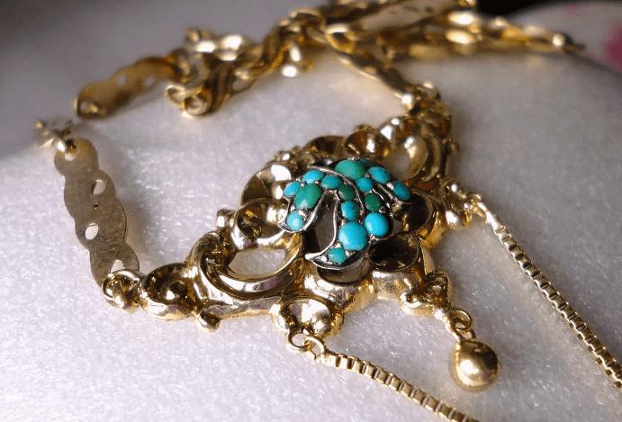 Украшения с бирюзой в золоте: уникальный самоцвет в лучших коллекциях и факты, о которых вы не знали
