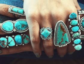 Ювелирные украшения с бирюзой и много интересного, чего вы не знали о древнейшем самоцвете