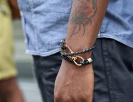 Мужские украшения на руку: обзор трендовых вариантов
