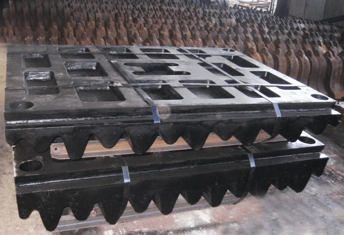 Плиты для дробилок