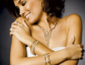 Женские золотые украшения