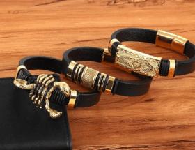 Какие бывают украшения из каучука с золотом