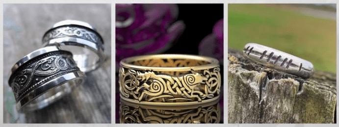 Модные обручальные кольца 2020 года. Языческие