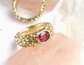 Украшения с турмалином в золоте: удивительные сочетания