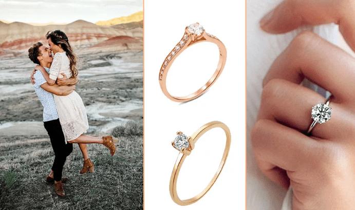Как выбрать помолвочное кольцо: советы мужчинам. Узнать размер ее кольца