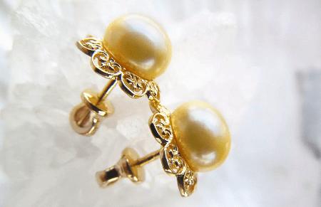 Как правильно выбрать золотые украшения с жемчугом? серьги