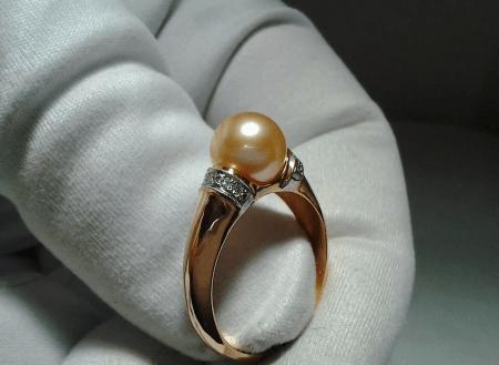 Как правильно выбрать золотые украшения с жемчугом? кольцо