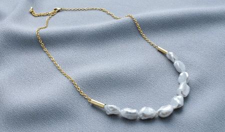 Как правильно выбрать золотые украшения с жемчугом? ожерелье