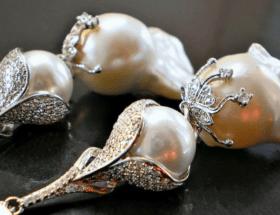 Какие бывают украшения из барочного жемчуга